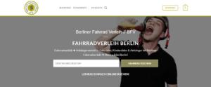 Berliner Fahrradverleih - Leihräder und Anhänger online buchen