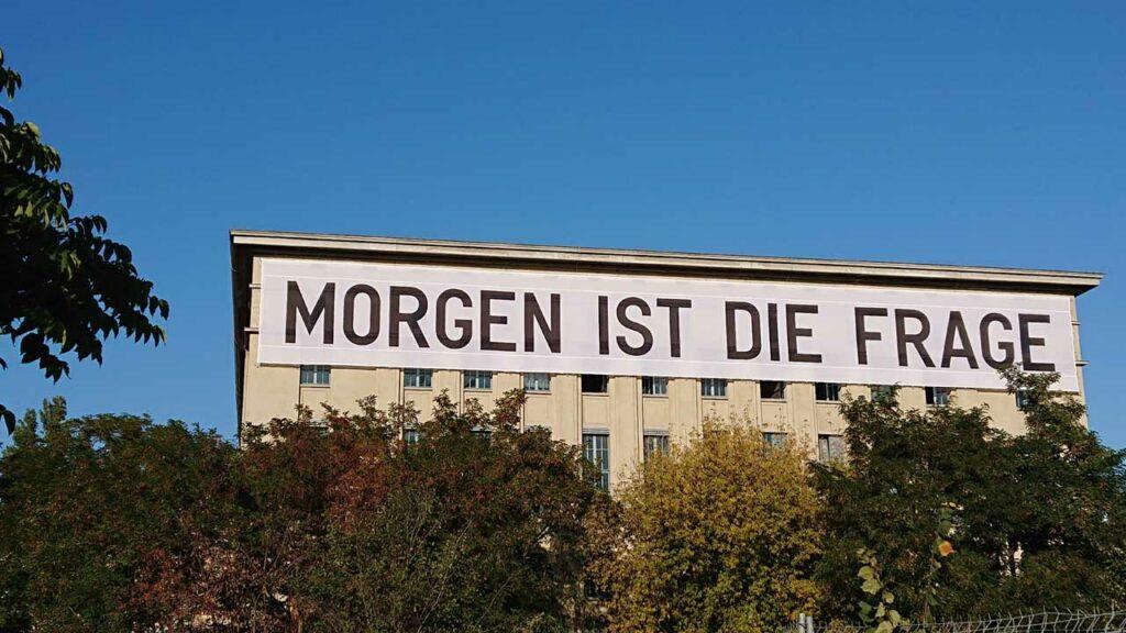 """Berliner Fahrradläden: """"Morgen ist die Frage."""""""